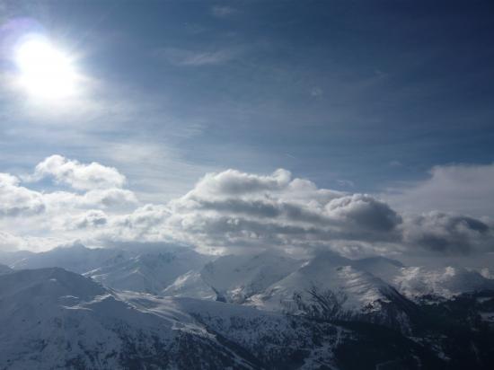 Paysage de montagne Haute Savoie